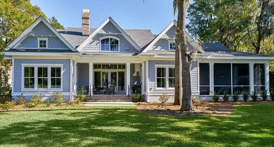 Lowcountry-Charm-Colleton-River-Plantation-by-Kelly-Caron-Designs 50+ Coastal Cottages We Love