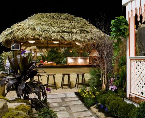 Pergolas-and-Pavilons-by-The-Ohio-Valley-Group-Inc Tiki Bar Ideas & Tiki Bar Decorations
