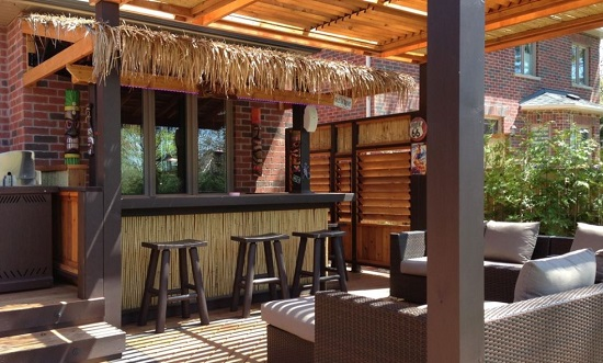 Tiki-Bar-Design-Build-by-Lunchbox-Design-Build Tiki Bar Ideas & Tiki Bar Decorations