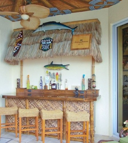 Whole-House-Remodel-in-Gulf-Harbour-Fort-Myers-FL-by-Progressive-Design-Build Tiki Bar Ideas & Tiki Bar Decorations