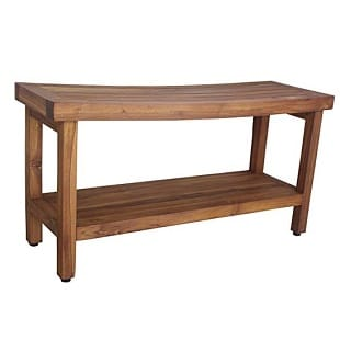 aquateak-patented-sumba-teak-shower-bench-with-shelf Teak Shower Benches