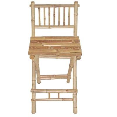 bamboo-exotic-folding-bar-stool Tiki Bar Ideas & Tiki Bar Decorations