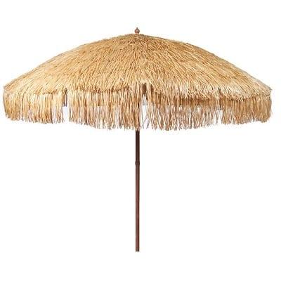 bayside-hula-tiki-bar-umbrella Tiki Bar Ideas & Tiki Bar Decorations
