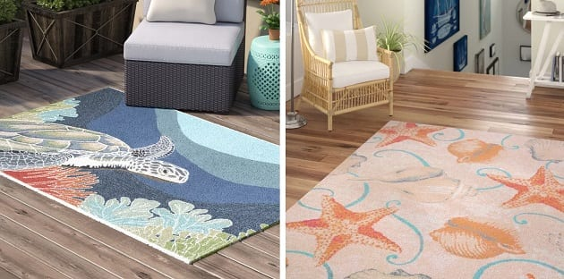 Beach Rugs and Beach Area Rugs