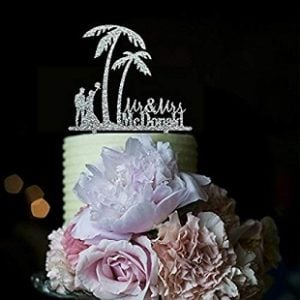 Beach Wedding Cake Toppers