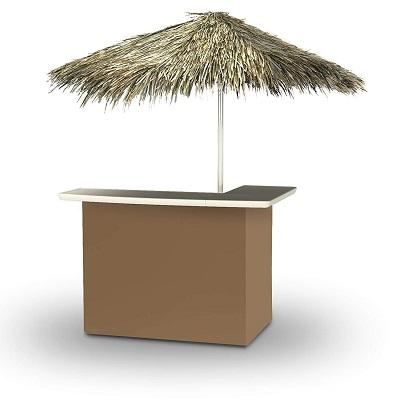 best-of-times-portable-brown-tiki-bar Tiki Bar Ideas & Tiki Bar Decorations