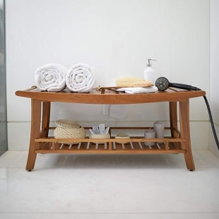 cambridge-casual-teak-spa-shower-bench Teak Shower Benches For Sale