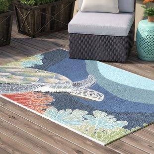 clowers-blue-indooroutdoor-area-rug Coastal Rugs and Coastal Area Rugs