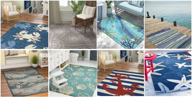 Coastal Rugs and Coastal Area Rugs