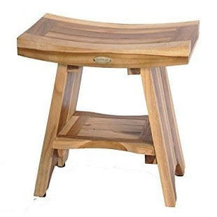 ecodecors-serenity-shower-stool Teak Shower Benches