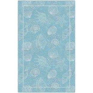 howarth-seashell-beach-blue-area-rug-1 Coastal Rugs and Coastal Area Rugs