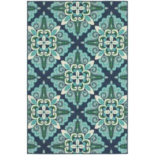 kailani-contemporary-bluegreen-indooroutdoor-area-rug Beach Rugs and Beach Area Rugs