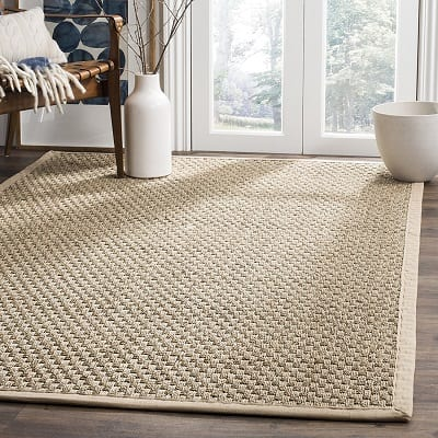 natural-fiber-area-rug Beach Rugs and Beach Area Rugs