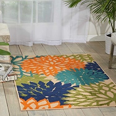 nourison-aloha-tropical-area-rug Beach Rugs and Beach Area Rugs
