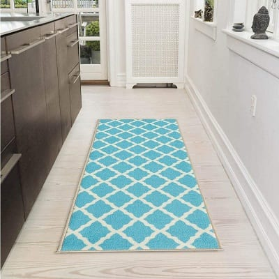 ottomanson-moroccan-trellis-area-rug Beach Rugs and Beach Area Rugs