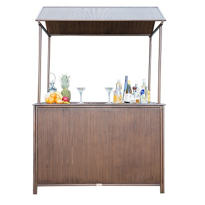 panama-jack-tiki-bar-with-canopy Tiki Bar Ideas & Tiki Bar Decorations