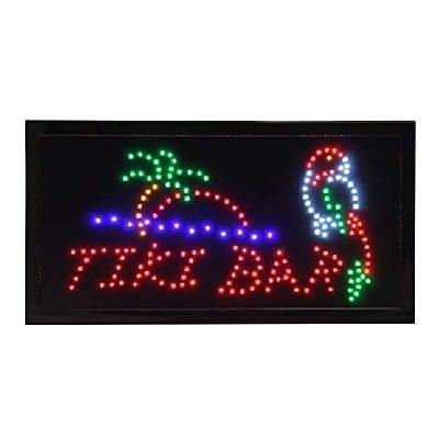 paradise-tiki-bar-sign Tiki Bar Ideas & Tiki Bar Decorations
