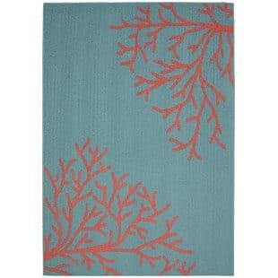providencia-sea-coral-teal-area-rug-1 Coastal Rugs and Coastal Area Rugs