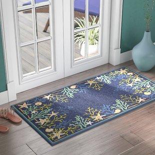 rundall-sea-water-hand-hooked-blue-indooroutdoor-area-rug Coastal Rugs and Coastal Area Rugs