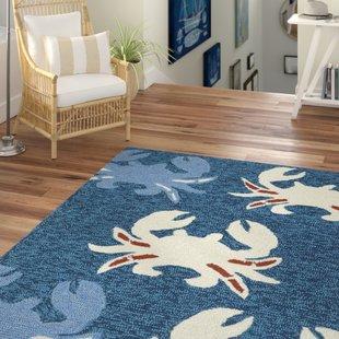 sereno-handmade-navy-indoor-outdoor-area-rug Coastal Rugs and Coastal Area Rugs