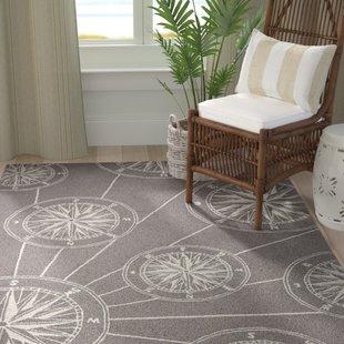 shelborne-compass-hand-tufted-gray-indooroutdoor-area-rug Coastal Rugs and Coastal Area Rugs