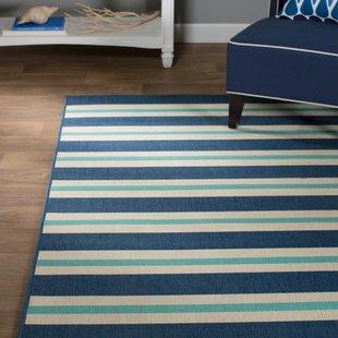 springwater-blueivory-indooroutdoor-area-rug Coastal Rugs and Coastal Area Rugs