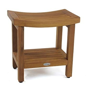 sumba-shower-bench-with-shelf Teak Shower Benches For Sale