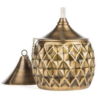tabletop-torch-gold-340x340 Tiki Bar Ideas & Tiki Bar Decorations
