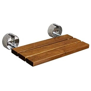 teak-modern-folding-shower-bench Teak Shower Benches