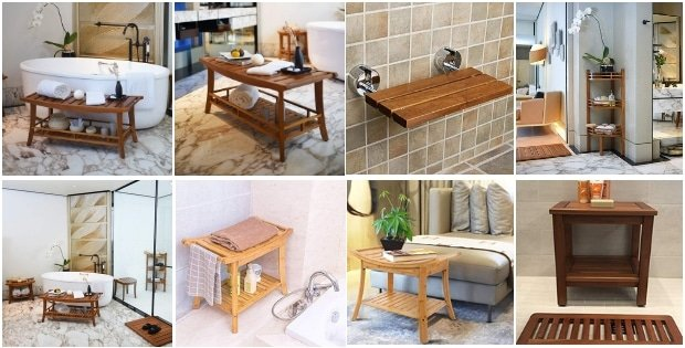 teak-shower-benches Home
