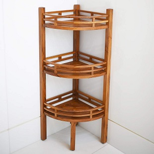 teak-shower-rack Teak Shower Benches