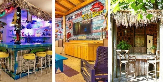 Tiki Bar Ideas and Tiki Bar Decorations