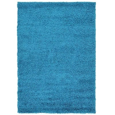 unique-loom-solo-solid-shag-area-rug Beach Rugs and Beach Area Rugs