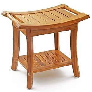 welland-deluxe-teak-wood-shower-bench Teak Shower Benches For Sale