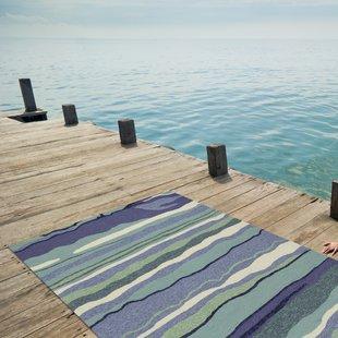 weybridge-handmade-blue-indooroutdoor-area-rug Coastal Rugs and Coastal Area Rugs