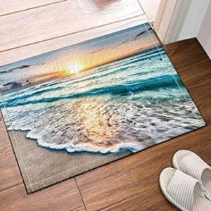 Beach Bathroom Rugs & Coastal Bathroom Rugs