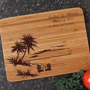 Beach Cutting Boards & Coastal Cutting Boards