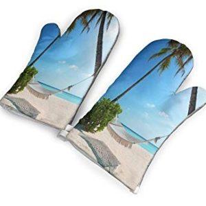 Beach Oven Mitts & Coastal Oven Mitts