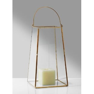 TrapezoidGlassLantern Beach Wedding Lanterns & Nautical Wedding Lanterns