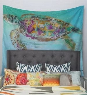 Beach Tapestries and Coastal Wall Hanging Tapestries