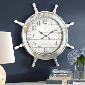 nautical-wall-clocks-300x300 Nautical Home Decor