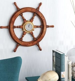 Ship Wheel Clocks