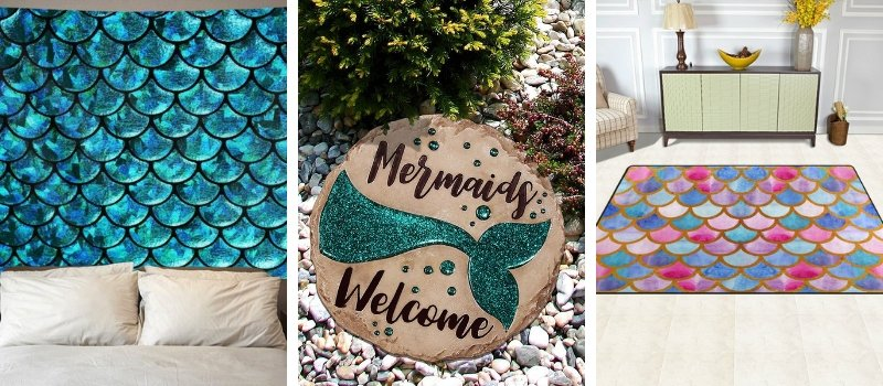 mermaid home decor