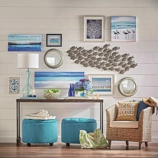 beach-wall-decor Beach Decor and Coastal Decor