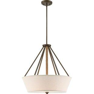 bellvue-4-light-drum-chandelier Beach Themed Chandeliers