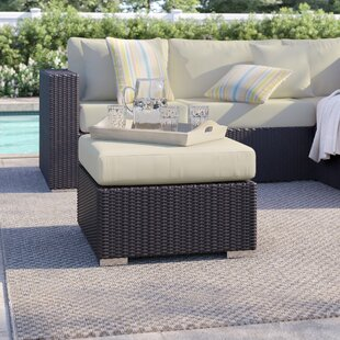 brentwood-ottoman-with-cushion Wicker Ottomans and Rattan Ottomans
