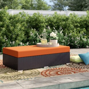 brentwood-rectangle-ottoman-with-cushion Wicker Ottomans and Rattan Ottomans