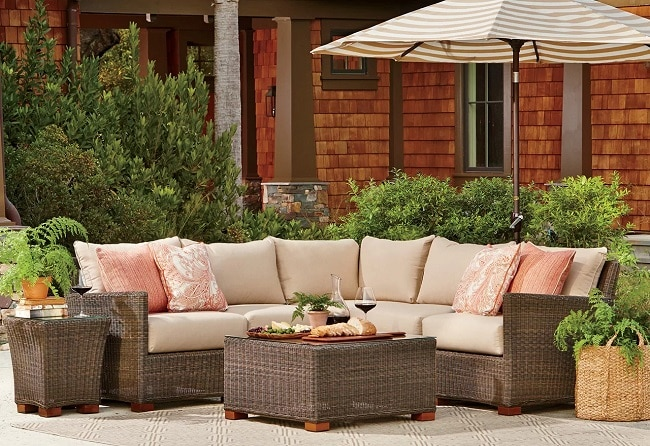 by-Joss-Main-in-Room-Ideas Wicker Ottomans and Rattan Ottomans