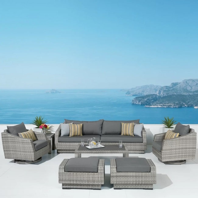 by-Wayfair-in-Patios-and-Porches3 Wicker Ottomans and Rattan Ottomans