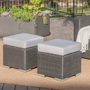 cabral-ottoman-with-cushion Wicker Ottomans and Rattan Ottomans